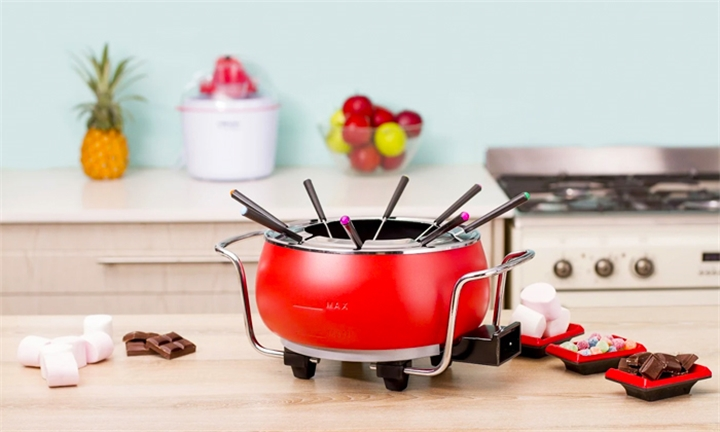 Mellerware Electric Fondue Set with Temperature Control for R649