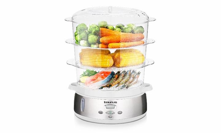 Taurus Estilo Vapor 3 Tier Digital Food Steamer for R899