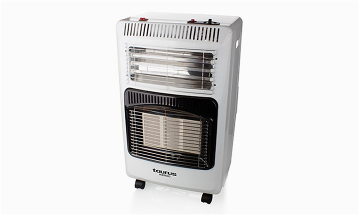 Taurus Hibrido Aluminium Electric & Gas Heater for R1799