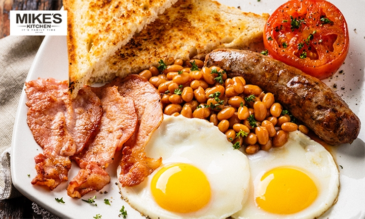 Choice of Breakfast for Two at Mikes Kitchen Salt Rock
