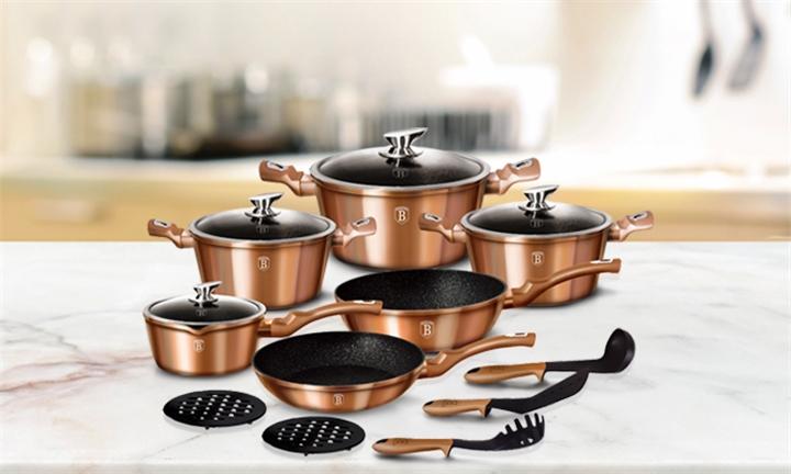 Berlinger Haus Metallic Line 15 Piece Cookware Set for R2499