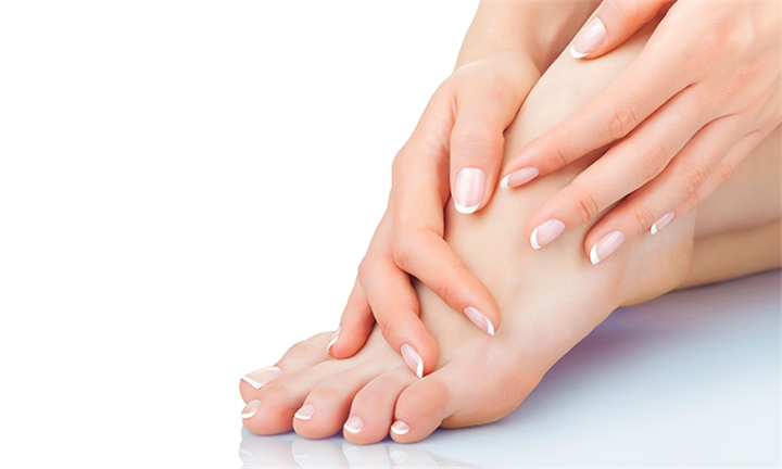 Lux Delux Manicure or Pedicure for One or Two at Issy's Health and Beauty Boutique