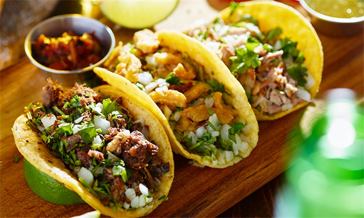Choice of Nachos, Tacos or Burritos for Two at Escape' Tapas Bar & Restaurant