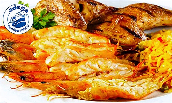 Prawn and Chicken Combo to Share for up to Four at Adega Express Rivonia Village