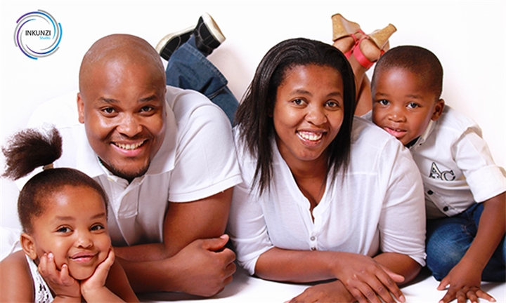 Choice of Family Portrait Photoshoot – Gold or Platinum Package with Inkunzi Studio