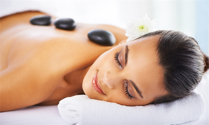 Choice of Back, Neck & Shoulder or Full Body Hot Stone Massage Including Extra Treatments at Rhythm of Africa Day Spa