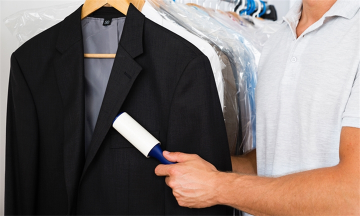 Dry Cleaning for a 2-Piece Suit at Nariko Dry Cleaners