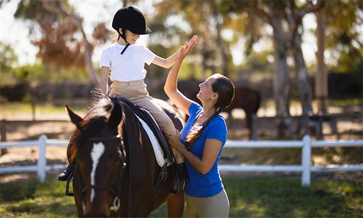 Horse Riding Lessons at Inchanga Stables