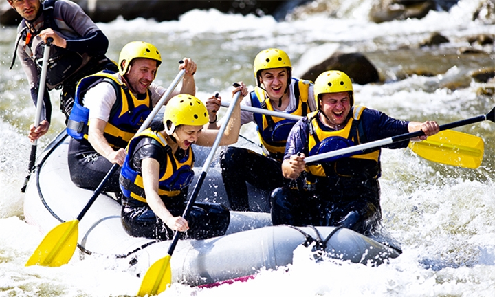 White River Rafting for One or Two at Earth Adventures