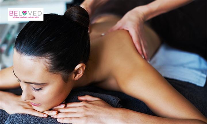 30-Minute Back, Neck & Shoulder Aroma Massage Including Head Massage at BeLoved