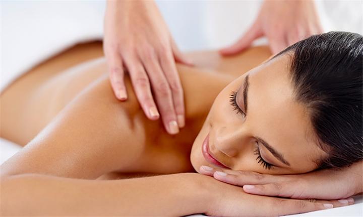 60-Minute Full Body Swedish Massage with Optional Deep Cleanse Facial at Suga Suga Beauty Salon