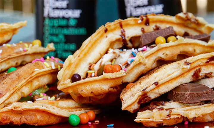 Choice of Sweet or Savoury Waffle Each for 2 at Woodstock Waffles