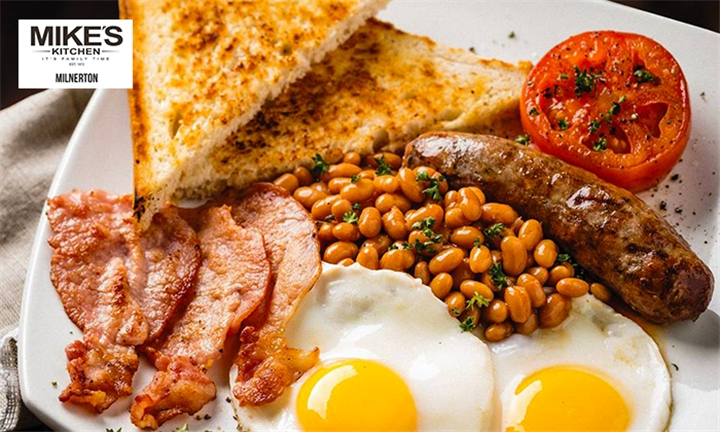Choice of Breakfast for Two at Mike's Kitchen Milnerton