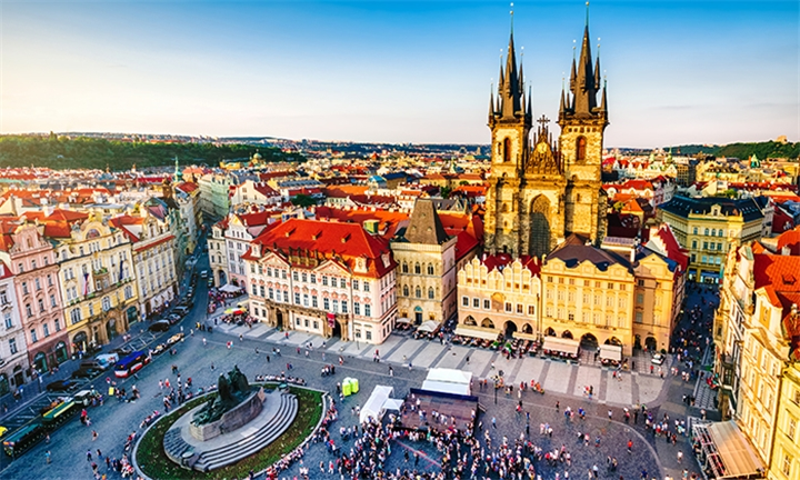 Eastern Europe: 7-Night Stay Including Breakfast, Dinners, Transfers and Sightseeing