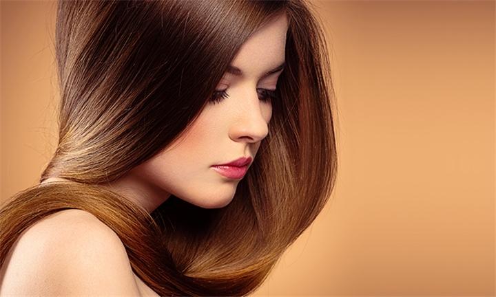 Wash, Cut & Blow-Dry with Optional Treatment at Oh Lah Lah Hair by Sarlah