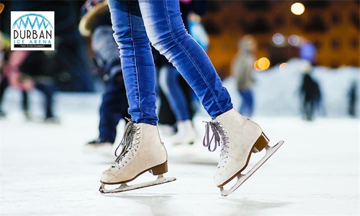 Ice Skating Session for Two at Durban Ice Arena