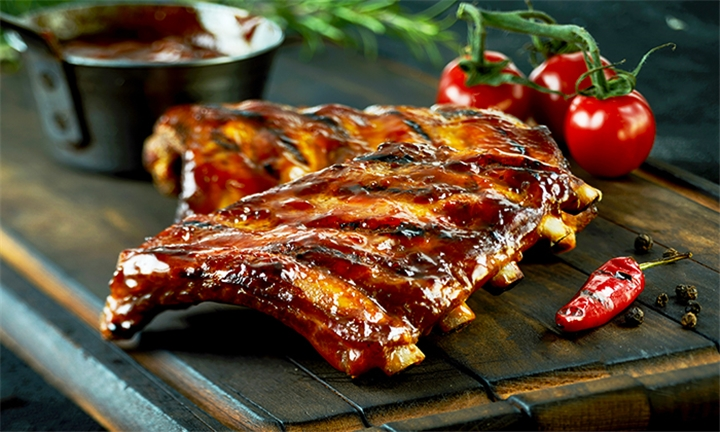 All-You-Can-Eat Ribs and Garlic Loaf for up to Six at Scrooge Diner