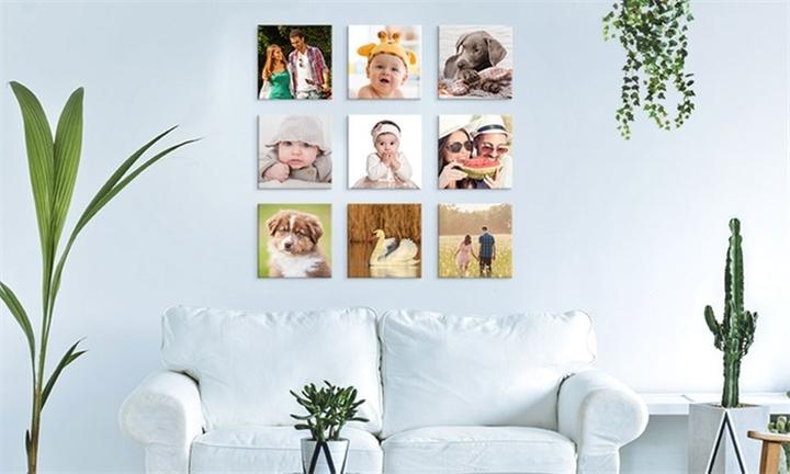 Personalised 12 Panels - (300x300 ) Canvas Print from Printstagram
