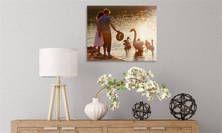 Personalised A3 Canvas Prints from Printstagram