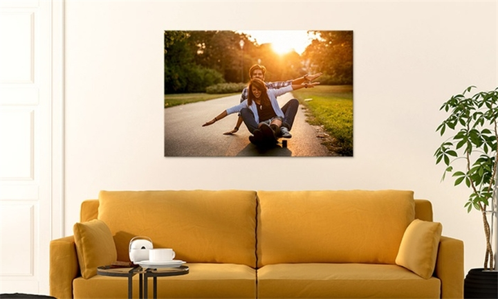 Personalised 400mm x 400mm Canvas Prints from Printstagram