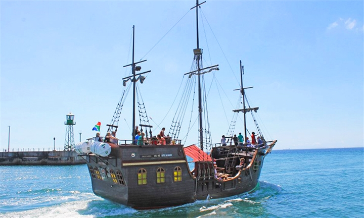Pre-Sunset Cruise Aboard the Jolly Roger for 1 x Adult