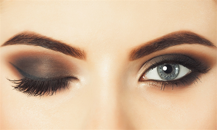 Permanent Makeup Eyeliner – Choice of Top and/or Bottom and Eyebrows from Permanent Makeup by K