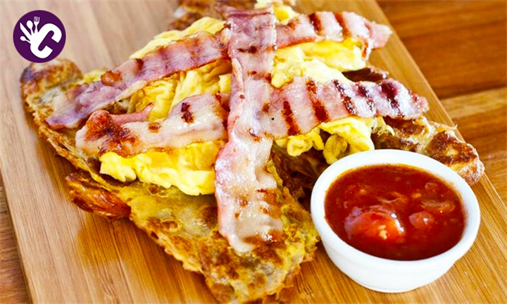 456c58a44cd Choice of Breakfast for up to Four at Crave SA.