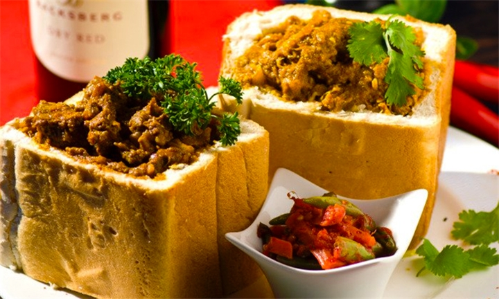 Choice of Bunny Chow for up to Six at Rushmu Indian Cuisine Caterers