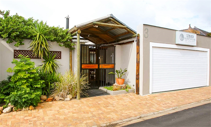 Western Cape: 2-Night Self-Catering Anytime Stay Incl Tour for up to Four at Strand Guest House