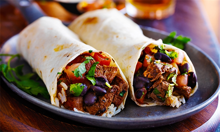 Choice of Tacos or Burritos and Side Each for Two at Mama Mexicana