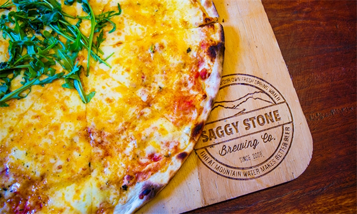Choice of Pizza Each for up to Four at Saggy Stone Bar & Restaurant