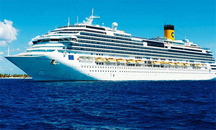 Luxury Cruise: 10-Night Italy, France, Spain, Portugal Cruise for Two Aboard the Costa Favolosa