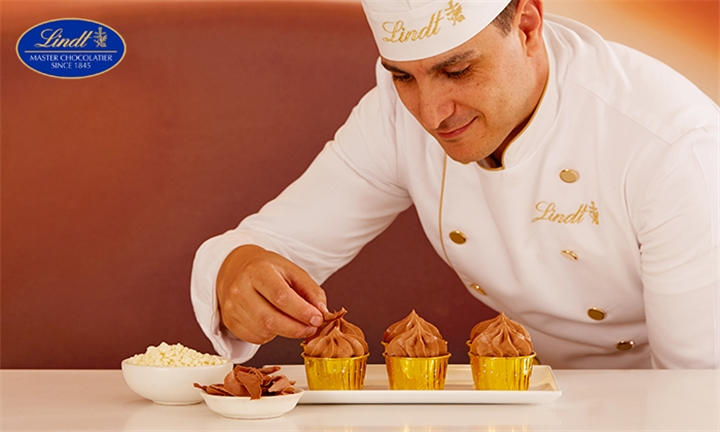 Lindt Chocolate Cupcake Making Experience for Two