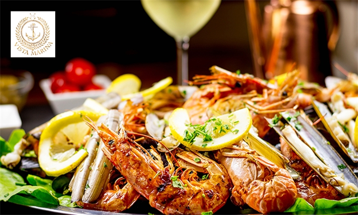 Lobster and Seafood Platter for up to Four at Vista Marina