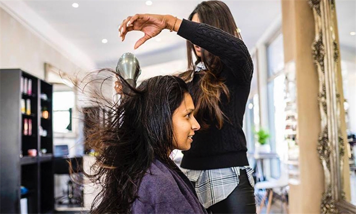 Wash, Cut and Style with Optional Treatment & Highlights at Squarebubblehair
