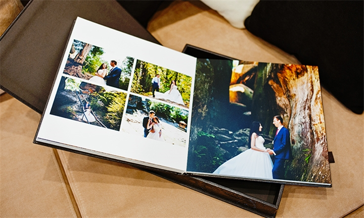 4 Personalised A4 Photobooks Including Delivery from Something 2 Talk About