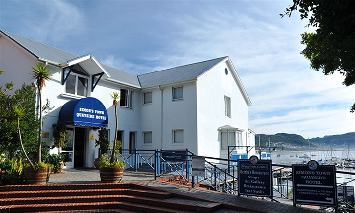 Western Cape: 1 Night Anytime Stay for Two Including Breakfast at aha Simon's Town Quayside Hotel