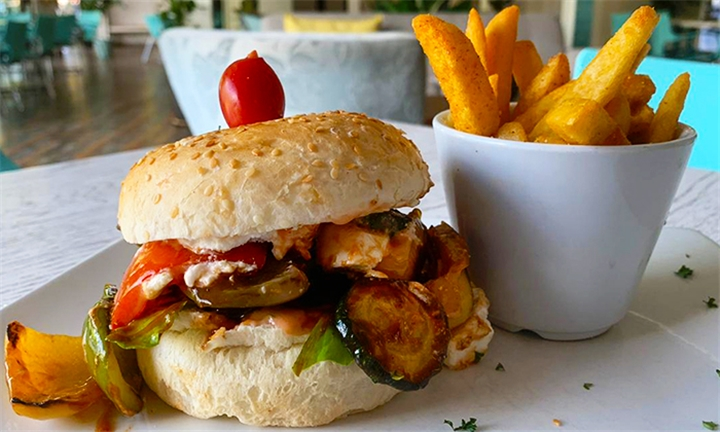 Choice of Burger with Fries for up to Four at Bailey's Bedfordview
