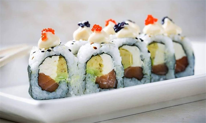 20 or 40-Piece Chef's Selection Sushi Platter to Share at Osetra Kalk Bay