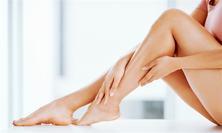 6 x Painless Laser Hair Removal Sessions for Small or Medium Area at Nourish Wellness Spa