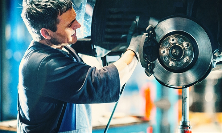 Brake Pads Check for One Standard Car at BD AUTO Repair Centre