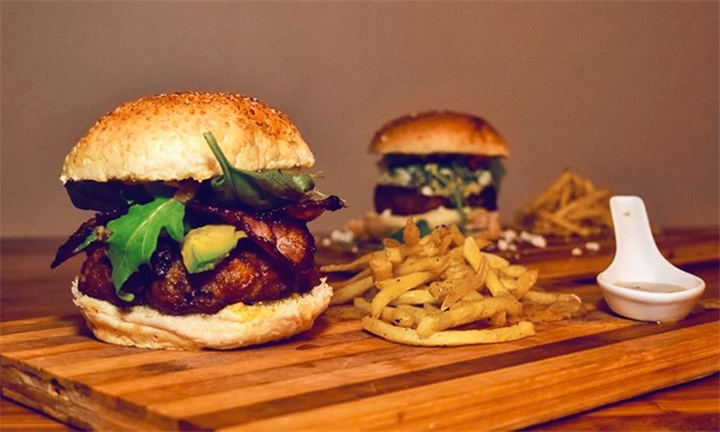 Choice of Burger each for up to Four at Uncut Restaurant & Club