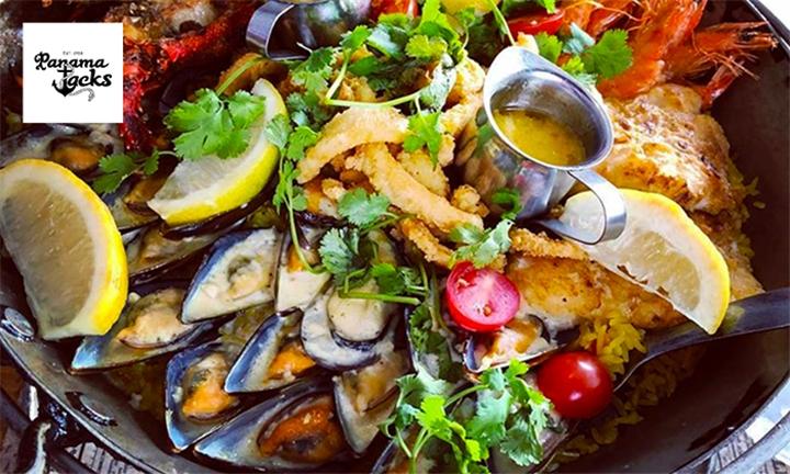 Seafood Platter for Two at Panama Jacks