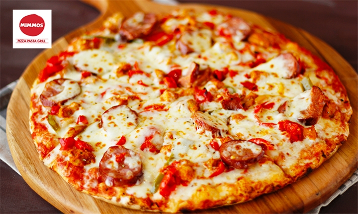 Choice of Large Classic Pizza or Pasta each for up to Six at Mimmos Midrand