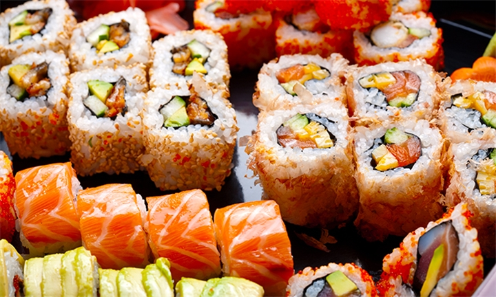 Choice of 22, 32 or 34-Piece Sushi Platter to Share with Yuki Sushi