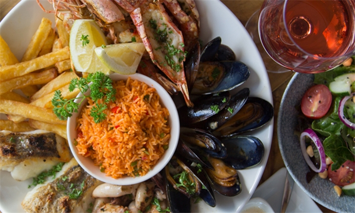 Seafood Platter for Two at Sea Grill