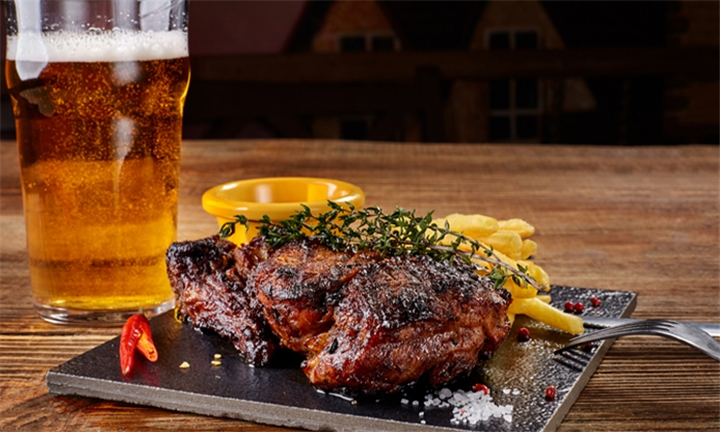 Choice of Main Meal for Two at The Hops Restaurant & Bar
