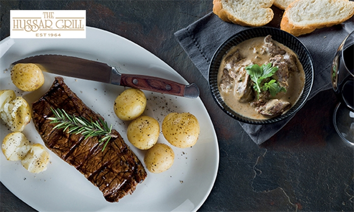 2-Course Lunch for Two at The Hussar Grill Grandwest