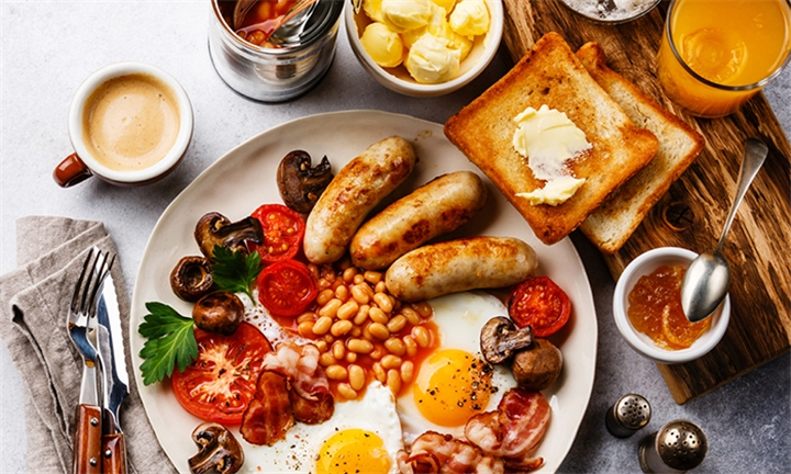 Full English Breakfast for Two at Slug and Lettuce, Long Street