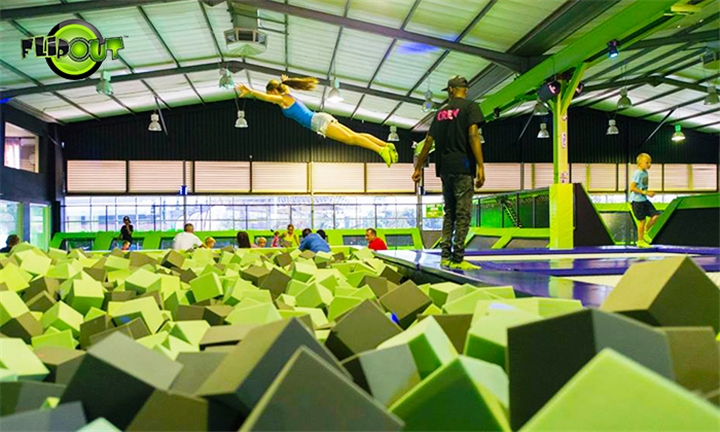 1-Hour Jump Session for Two at Flip Out